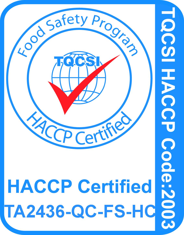 TA2436-QC-FS-HC HACCP Logo